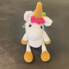 Load image into Gallery viewer, Knit unicorn