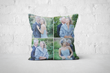 50x50cm Pillow/Cover - But Why Not - Photo Gifts