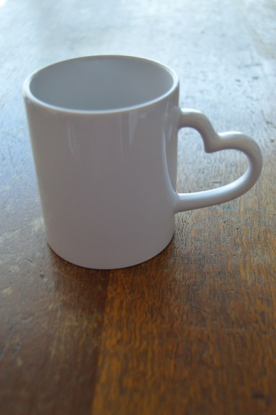 Mug - Heart Handle - But Why Not - Photo Gifts