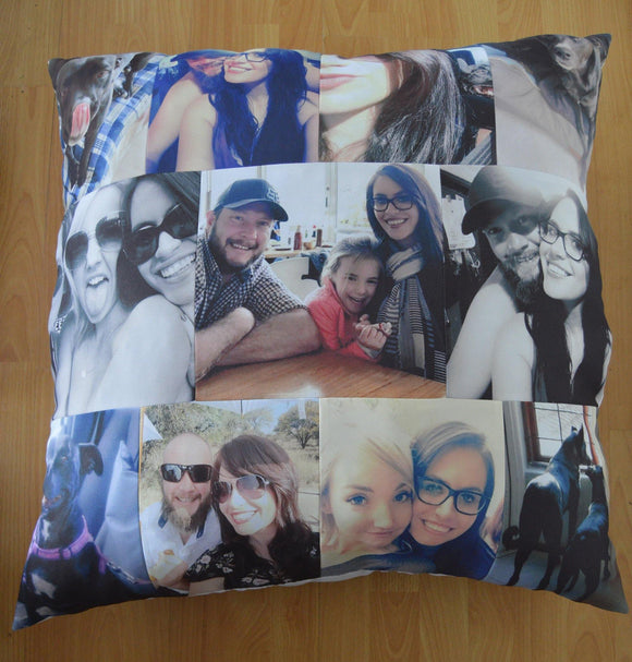 80x80cm - Continental Pillow - But Why Not - Photo Gifts