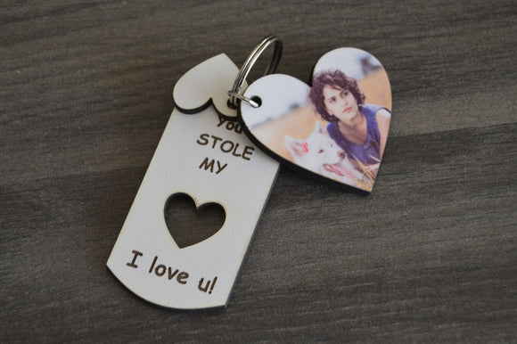 Keyring - You stole my Heart Set