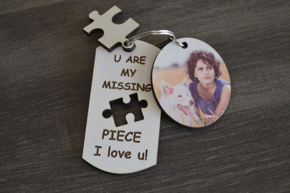 Keyring - You are my missing piece Set
