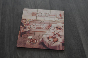 Puzzle - Wood Square - But Why Not - Photo Gifts