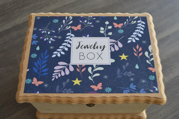 Large Jewelry Box - But Why Not - Photo Gifts