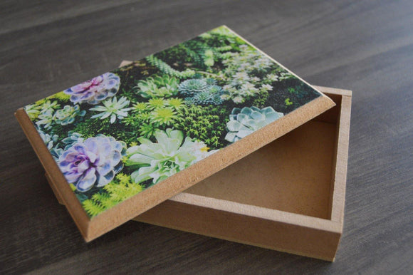 Small Wood Box - But Why Not - Photo Gifts