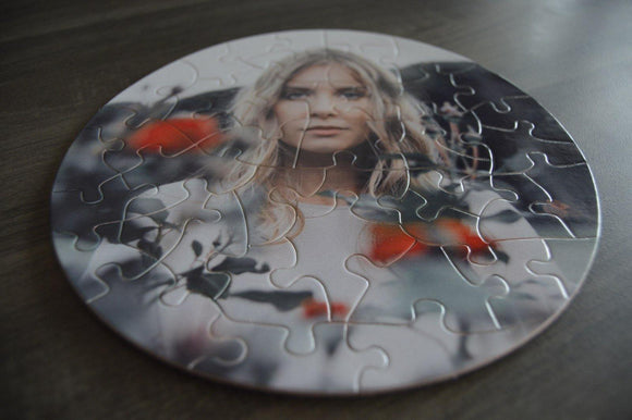 Puzzle - Round - But Why Not - Photo Gifts