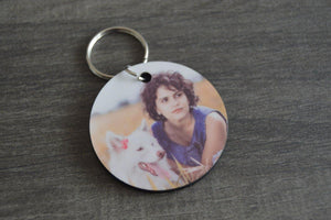 Wood Key Ring - Round - But Why Not - Photo Gifts