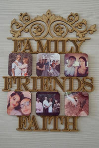 Wood Photo Frame - But Why Not - Photo Gifts