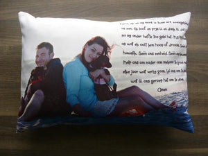 A3 Pillow/Cover - But Why Not - Photo Gifts