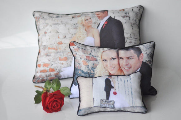 Set of 3 Pillows - But Why Not - Photo Gifts