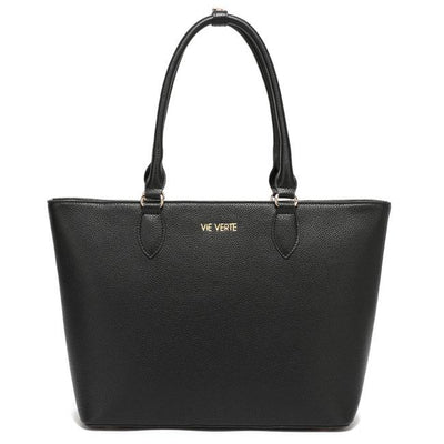 The Classic Tote - Black - NATURE'S AROMA