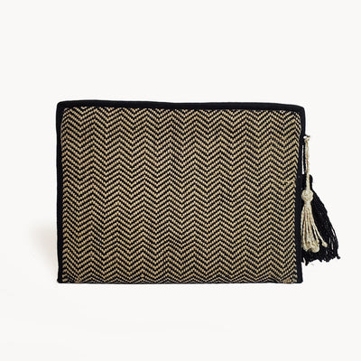 ZG Tablet Clutch with Tassel - NATURE'S AROMA
