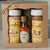 Crescent City Seasoning gift box. Includes New Orleans seasoing, Cajun Creole seasoning and a mini hot sauce.