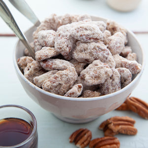 Rum Frosted Pecans