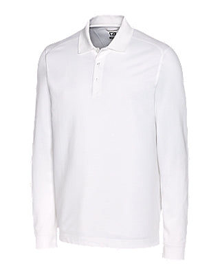 Men's Long Sleeve Tek Polo Shirt