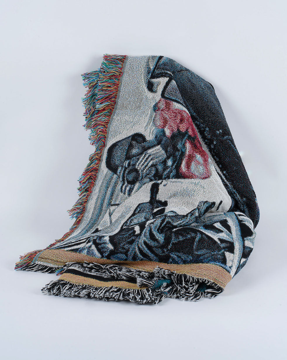 Varyer + Deadly Prey La Haine Throw Blanket