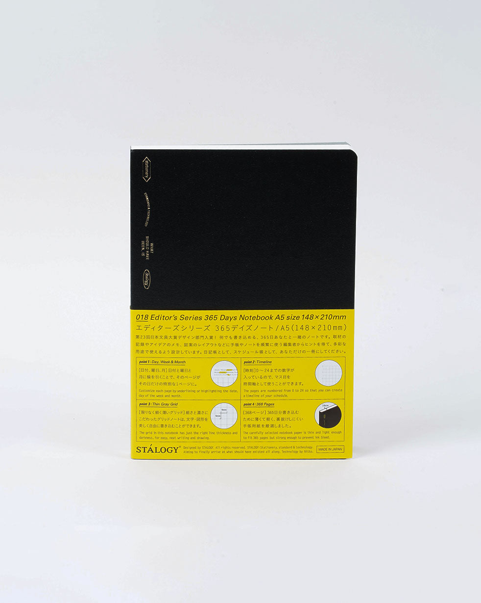 365 Days Notebook