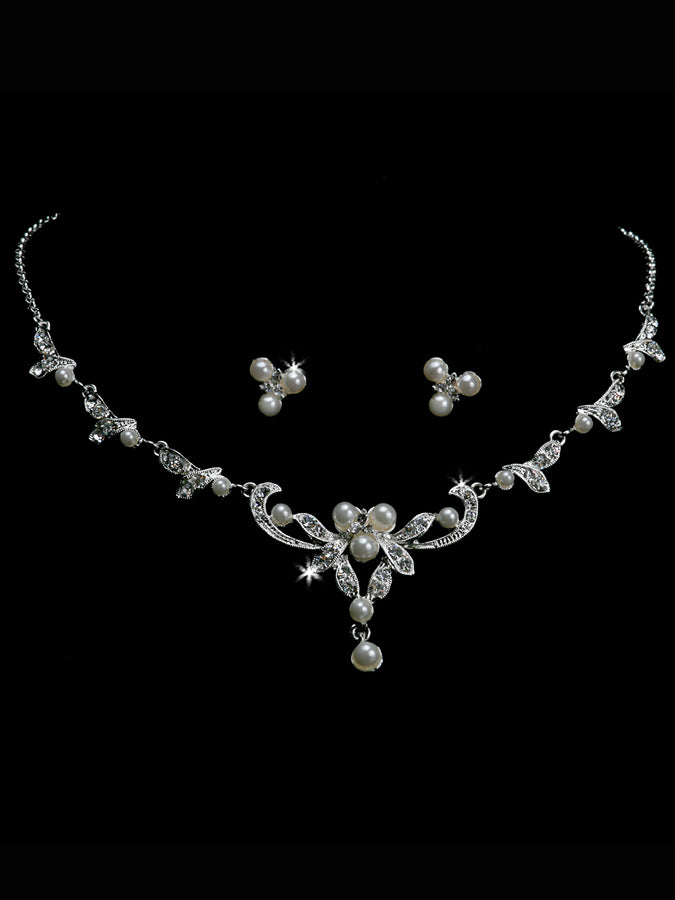 PEARL BEAD NECKLACE SET | NL1216