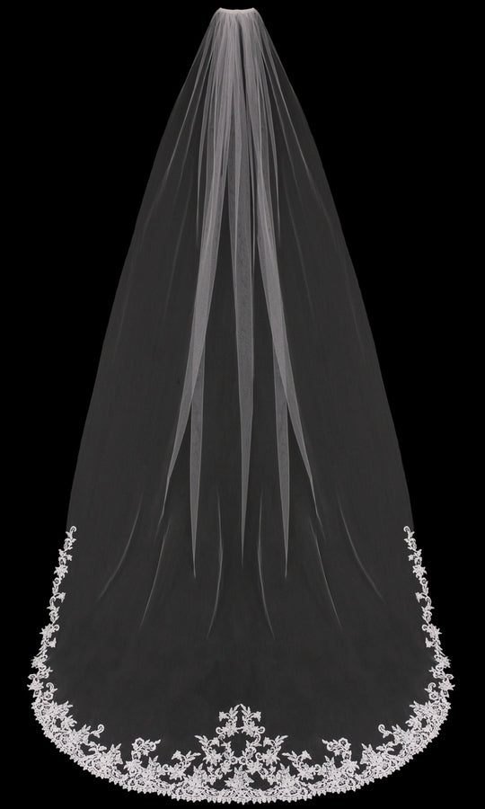 CATHEDRAL BRIDAL VEIL | V1898C