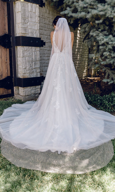 CATHEDRAL BRIDAL VEIL | V2085C