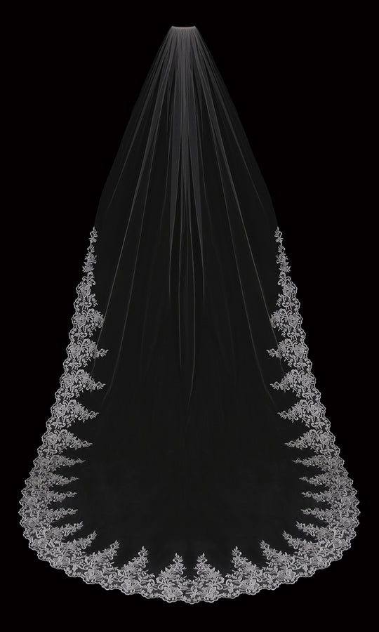 ROYAL CATHEDRAL BRIDAL VEIL | V2099RC