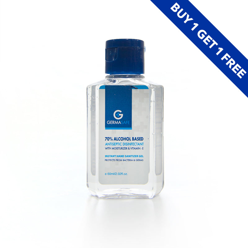 GermaSafe Hand Sanitizer Gel 60ml BOGOF - Orientica