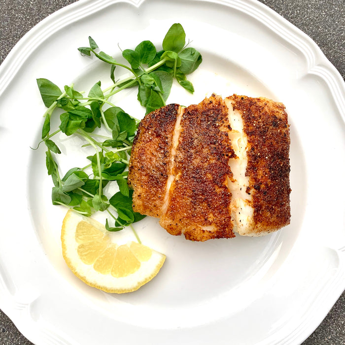 Premier Catch Pan-Seared Halibut