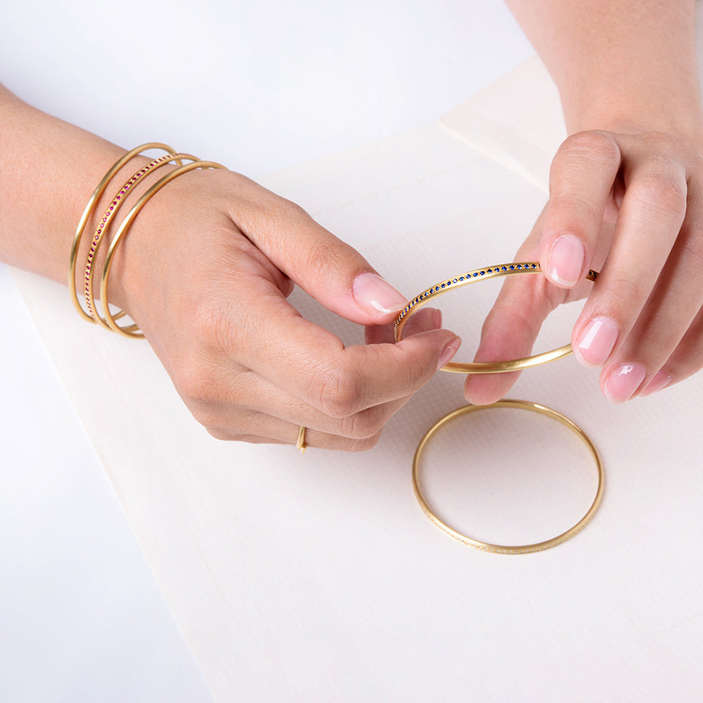 Perfect Sapphire Bangle