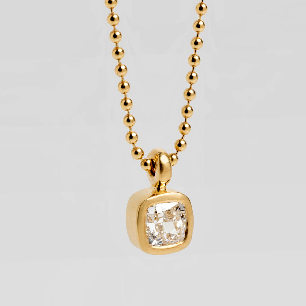 Diamond Suitcase (Square) Pendant