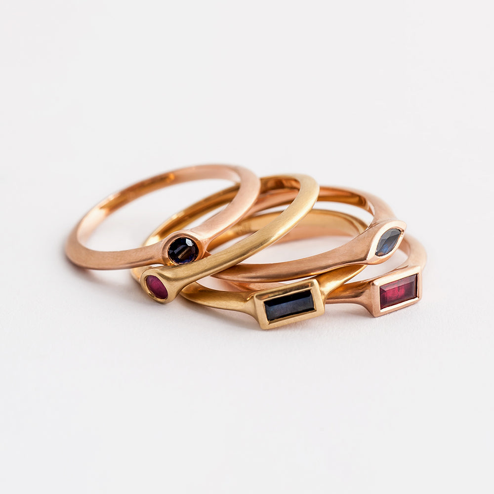 Sapphire Baguette String (Small)