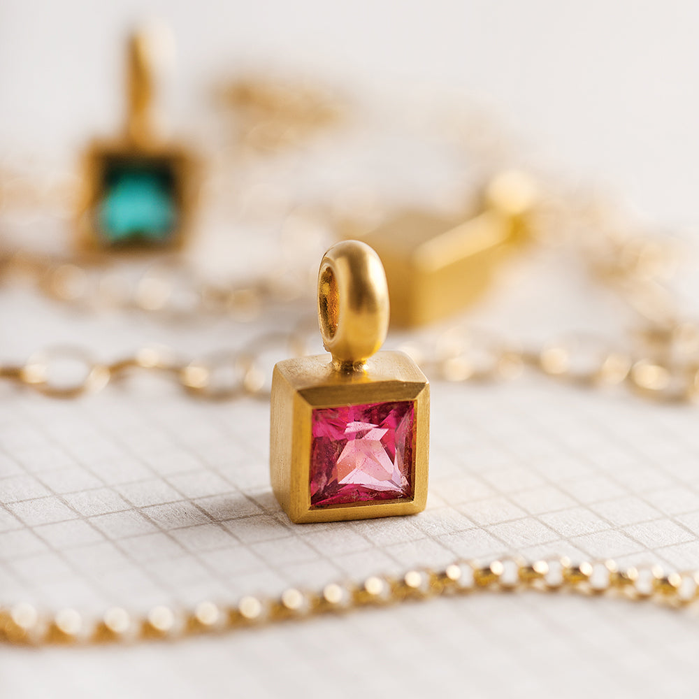 Pink Tourmaline Suitcase (Square)