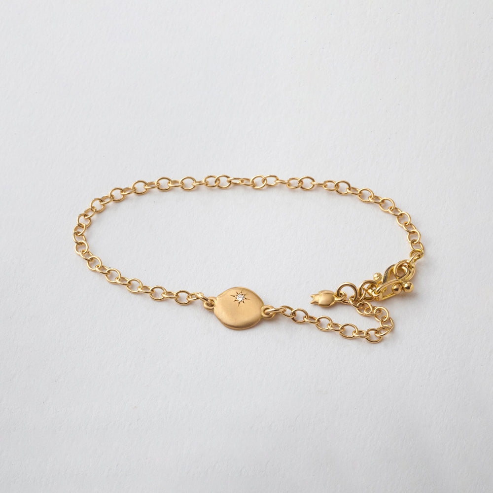 Diamond Cloud (Link) Bracelet