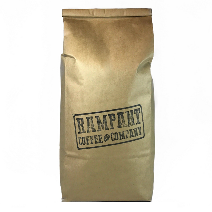 1KG FRESHLY ROASTED COFFEE STAMPEDE BLEND - Rampant Coffee Company