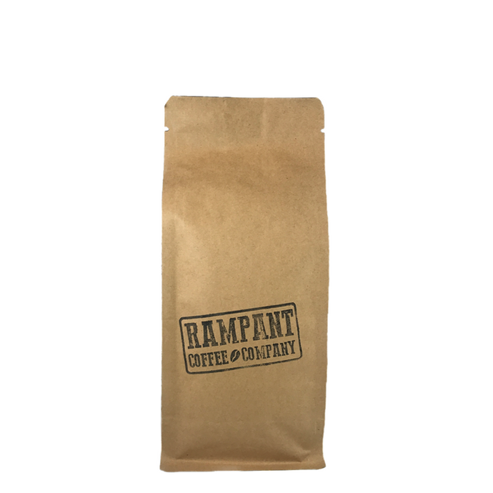 250G FRESHLY ROASTED COFFEE STAMPEDE BLEND - Rampant Coffee Company