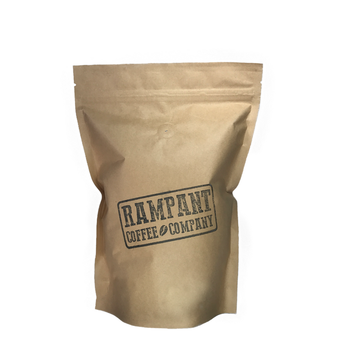 500G FRESHLY ROASTED COFFEE STAMPEDE BLEND - Rampant Coffee Company
