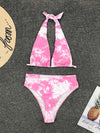 Gradient Color Bikini Swimsuit