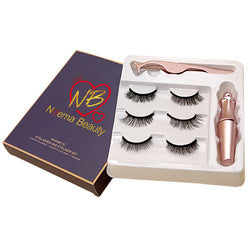 Magnetic Eyelashes & Eyeliner Set - Noema Beauty