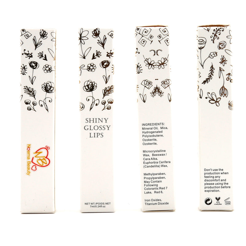 Natural Lip Gloss - Noema Beauty