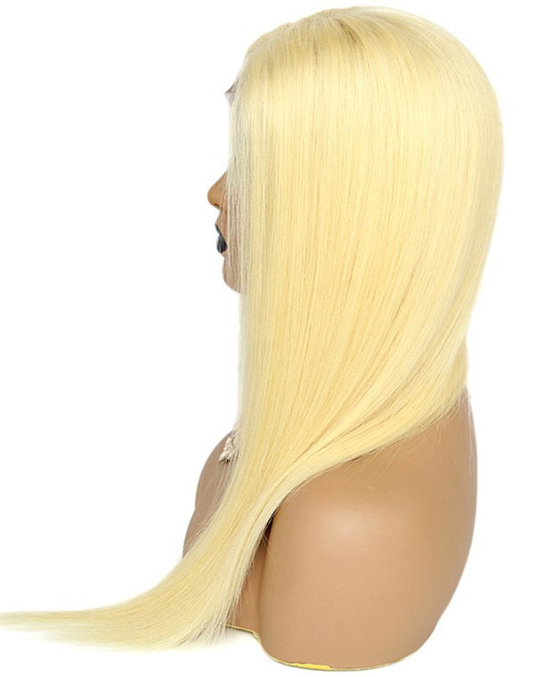 Blond Transparent Lace front Wig - Noema Beauty