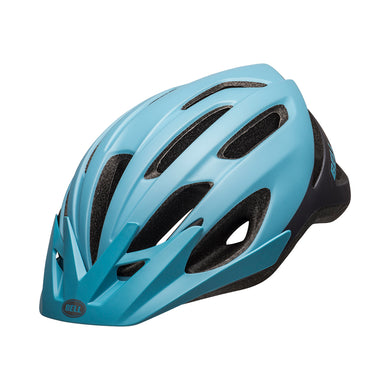 Bell Crest Matte Light Blue-Gray Front Left