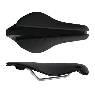 Fabric Tri Elite Flat Saddle Black+Black Comb FP30