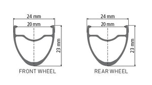 E 1800 SPLINE 23 DB RIM PROFILE