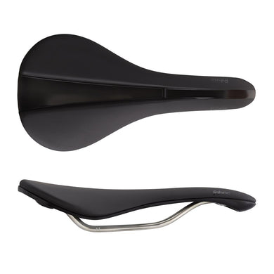 Fabric Line 142 Race Saddle Black+Black Comb FP735