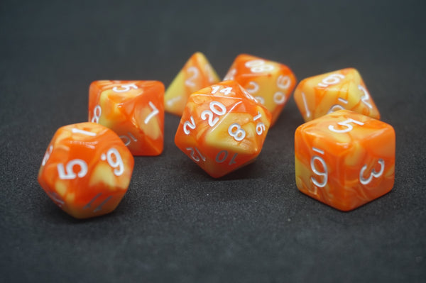 Cherry Chew Dice Set.