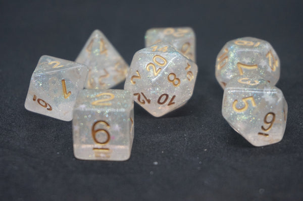 Gold Star Dice Set.