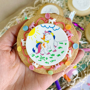 biscuit decorating gift and party idea
