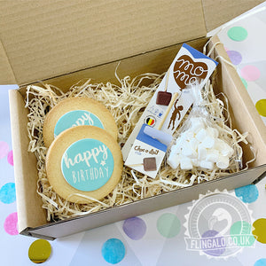 birthday biscuit gift box delivered