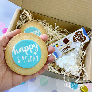 birthday boy biscuit gift box delivered