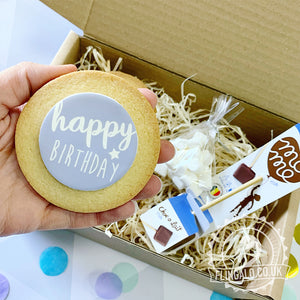birthday chocolate biscuit gift box uk delivery