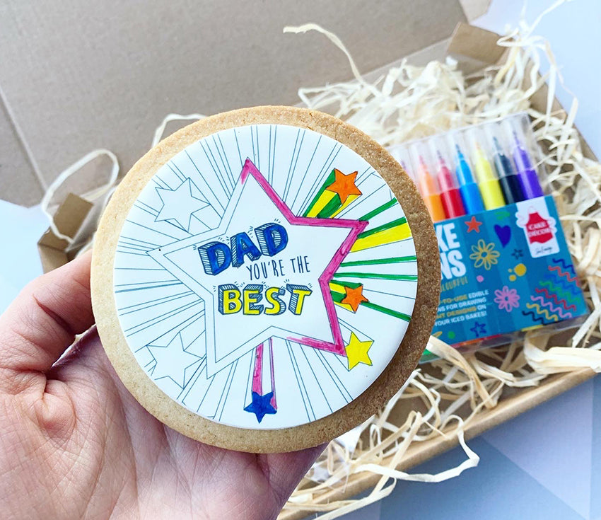father's day cookie kit